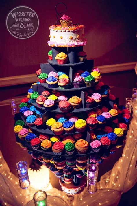 ideas  neon cupcakes  pinterest glow