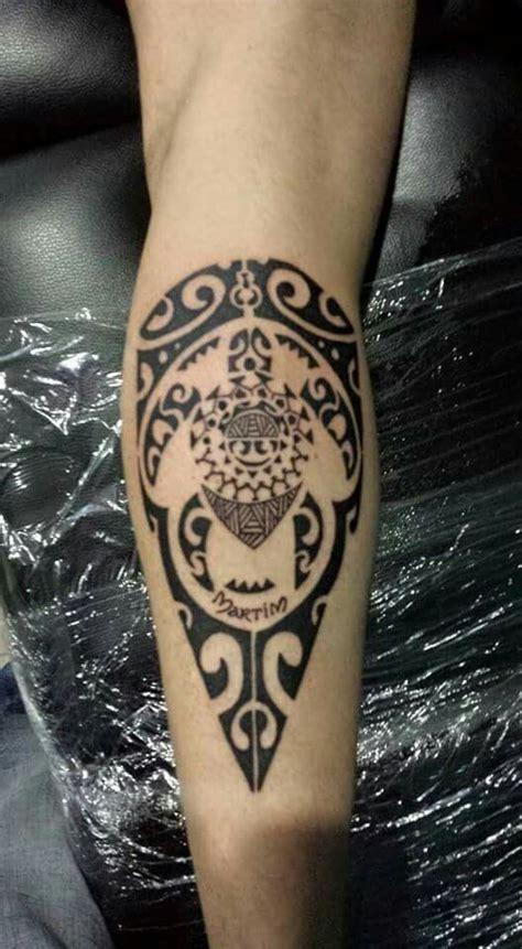 Tribal Sleeve Tattoo For Guys