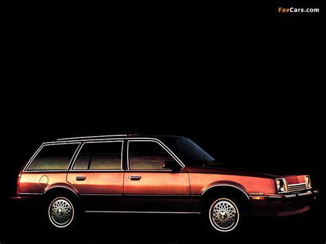 Chevrolet Cavalier Wagon 1982 pictures (800x600)