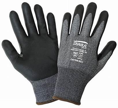 Gloves Resistant Cut Glove Touch Pair Samurai