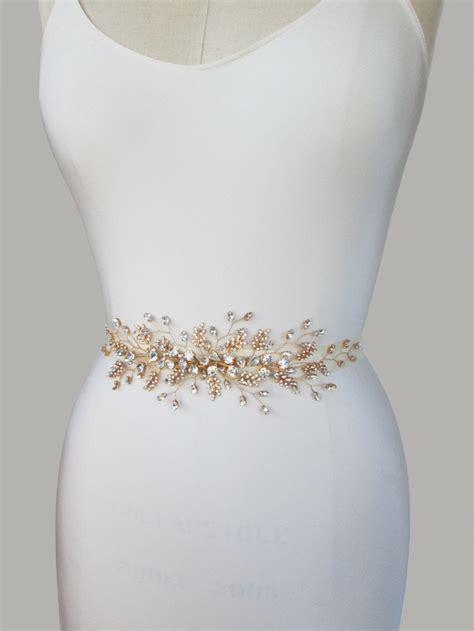 11 Seriously Stylish Bridal Sashes And Belts Weddingsonline