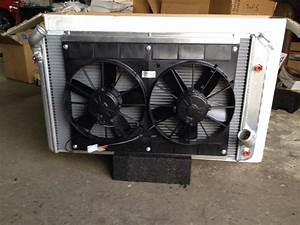 Dual 11 U0026quot  Spal Electric Fan Install