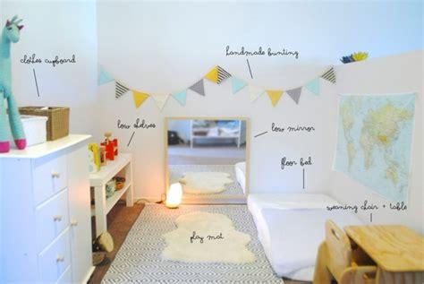 choix couleur chambre 1001 idées pour aménager une chambre montessori