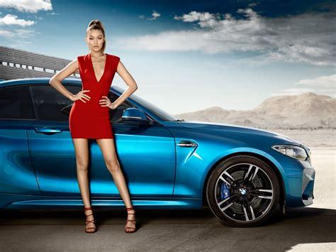 bmw ads 2016 gigi hadid 2016 bmw m2 coupé car commercial