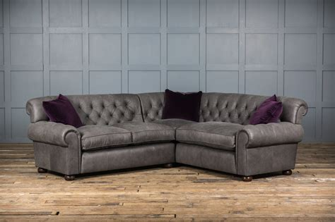 Leather Corner Settee by Mr Wallis Leather Corner Sofa