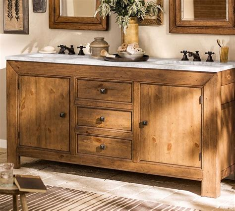 Weathered Nickel Cabinet Knobs by Sink Consoles Pottery Barn Decoration News