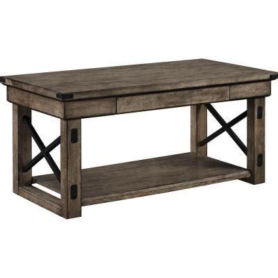 Altra Furniture 22 In L Altra Wildwood Wood Veneer Coffee
