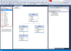 Visual Studio UML Class Diagram