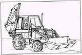 Backhoe Loader Sketch Coloring Pages Template Paintingvalley sketch template