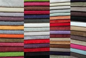 Tissu Pour Canapé : canape panoramique tissu salon nuancier tissu nuancier tissu alcantara velour couleur ~ Teatrodelosmanantiales.com Idées de Décoration