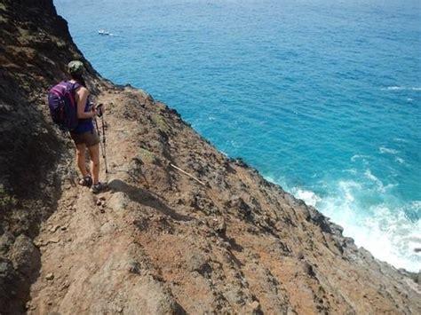 Kalalau Dangerous Cliffs Picture Of Kalalau Trail Kauai
