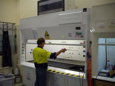 Fume Cupboard Maintenance by Fume Cupboard Testing And Maintenance Dynaflow