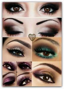 Quel Fard A Paupiere Pour Yeux Marron : quel maquillage yeux marron vert ~ Melissatoandfro.com Idées de Décoration