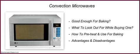cakes      convection microwave  baking