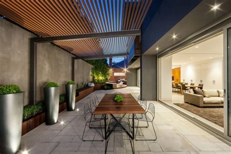 fresh modern patio designs for your courtyard