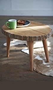 Holzmöbel Selber Bauen : 50 couchtische aus baumstamm gestaltet lajsdhfalskfn a p sdf pinterest ~ Orissabook.com Haus und Dekorationen