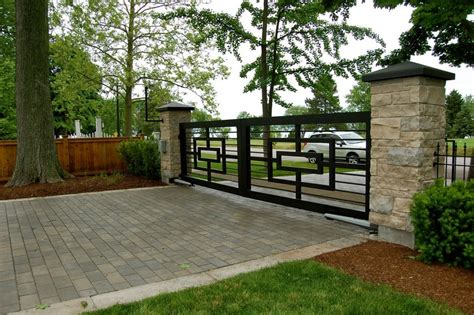 modern brick fence designs decorating awesome terrace with modern iron fences design and white brick iron fences and