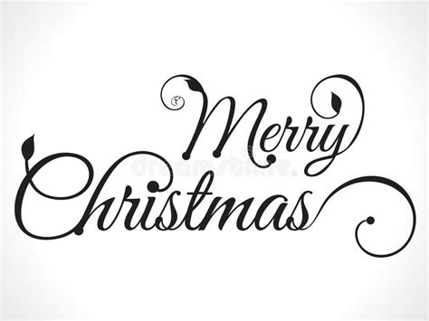 merry christmas text background stock vector image 45833205
