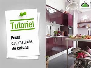Poser Une Cuisine : ma cuisine l 39 imaginer et la r aliser leroy merlin ~ Melissatoandfro.com Idées de Décoration