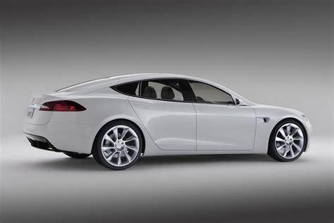 Tesla Model S News by New Tesla Model S Electric Car Revealed Official Details