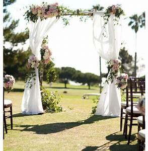 Les plus belles arches de mariage pour une ceremonie for Awesome decoration pour jardin exterieur 2 deco entree eglise mariage