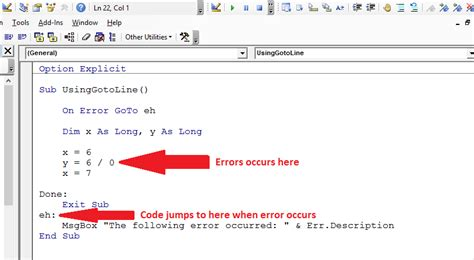Excel Vba On Error Resume Next Goto 0 by Vba Error Handling A Complete Guide Excel Macro Mastery