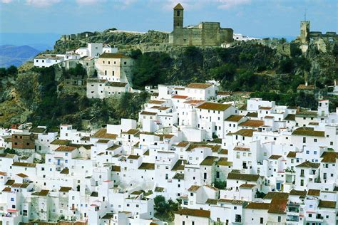spain villages andalusia ronda tour cycling andalucia biking adventures arrival houses itinerary mountains