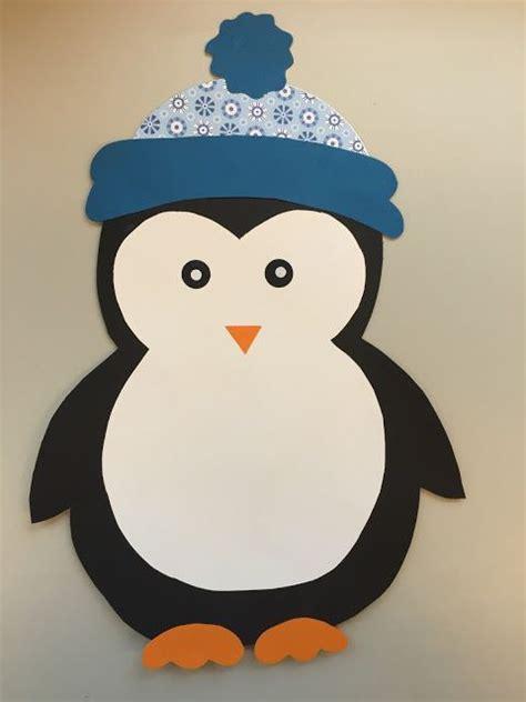 Fensterdeko Weihnachten Kindergarten by Klassenkunst Fensterdeko Pinguin Freebie Basteln Mit