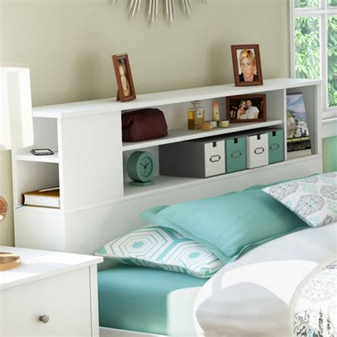 Bookcase Headboards by South Shore Vito Bookcase Headboard Colors And