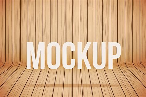 vector wood mockup background  mockup templates