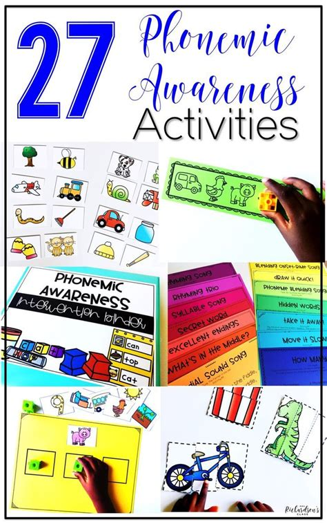 phonological awareness activities preschool 1396 best reading for k 2 images on resources 31610