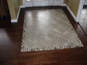 estate drive tile inlay modern entry edmonton