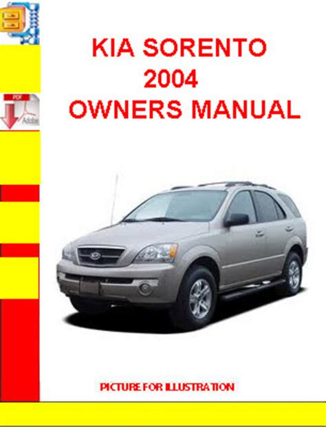 2003 kia sorento service manual free download