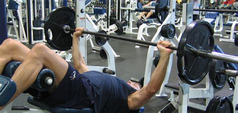 Decline Bench Grip Triceps Press by Wide Grip Decline Barbell Bench Press Chest Exercise Guide