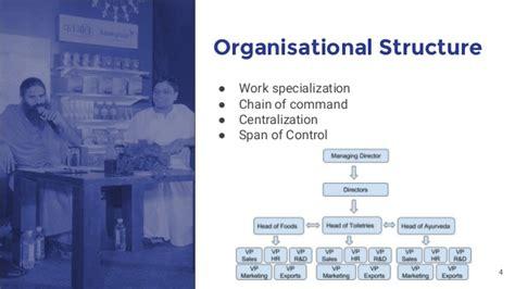 patanjali ayurveda culture structure strategies