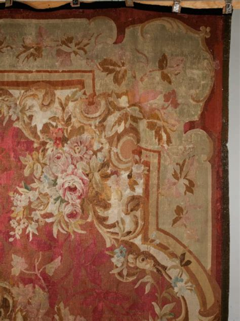 c.1830 Antique French Aubusson 12' X 14' Rug now in stock