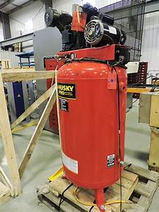 Used Husky 4hp Air Compressor  Hvac