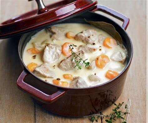 cuisiner blanquette de veau recipe veal blanquette