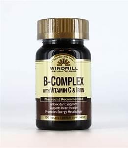 B Complex with C & Iron - Windmill Vitamins  Iron