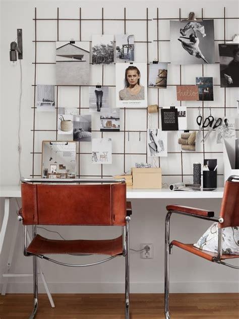 bureau de styliste palette de gris pour ambiance scandinave