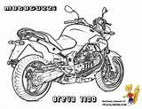 Motorcycle Coloring Breva Moto 1100 Guzzi Honda Yescoloring Kingly Boys sketch template
