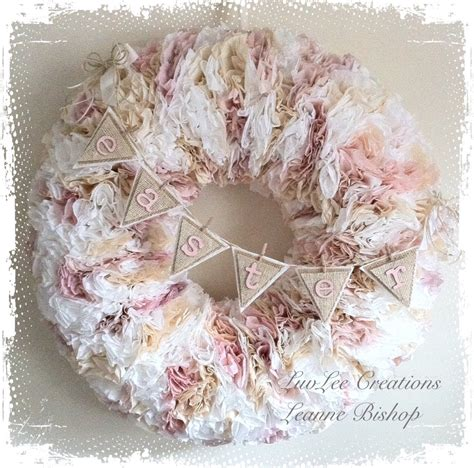 This quick and inexpensive door wreath is so easy to make! Crafty Imaginings & Silly Things: Pretty Valentine's Coffee Filter Wreath