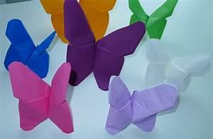 Pliage De Serviette Papillon : pliage de serviette table en forme 2017 et pliage serviette papillon 2 couleurs images ~ Melissatoandfro.com Idées de Décoration