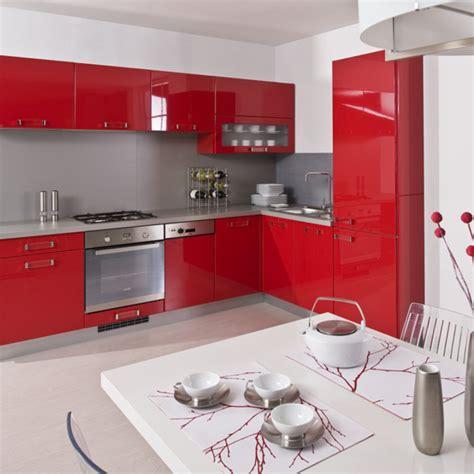 cocinas rojas pequenas cocina color rojo rojo cocina