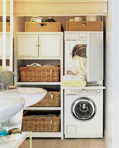 9 pull out organizer 12 essential laundry room organizing ideas martha stewart