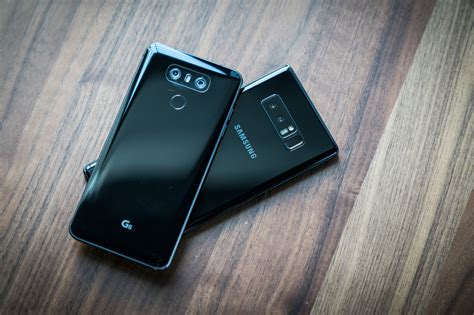 galaxy note 8 vs lg g6 can samsung beat lg for the phone crown pcworld