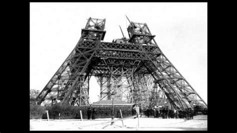 Eiffel Tower Construction 1887-1889