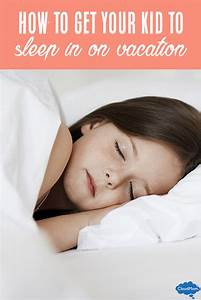 How To Get Your Child To Sleep Late on Vacation