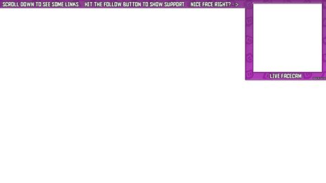 Twitch Overlay Template Girls by 28 Images Of Facecam Border Template Maker Canbum Net