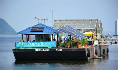 Boat Donation Nyc by Floating Farm Science Barge Gets New Solar